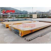 Wholesale 1-500 Ton Heavy Machinery Rail Transfer Cart With Audible Warning Device from china suppliers