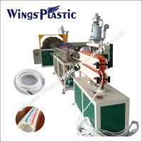 Wholesale PVC High Pressure Fiber Braiding Hose Extruder Machine / Production Line from china suppliers