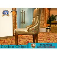 Wholesale Fixed Armrest Modern Casino Gaming Chairs / Solid Wood Dining Chair from china suppliers