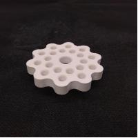 Wholesale High Strength Aluminum Oxide Ceramic Disc With 15-16mm Thickness from china suppliers