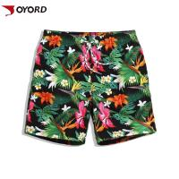 Wholesale OEM Custom Beach Shorts  Full Sublimation Printed Private Label Ultra Elastic from china suppliers