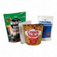 Wholesale Standup Zipper/Resealable Pouch, Suitable for Pet Food Packaging from china suppliers