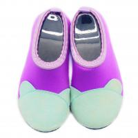 Wholesale Protective Barefoot Kids Aqua Water Shoes Purple Bare Toe Pattern Various Size from china suppliers