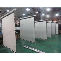 Wholesale 2016 Hot Sale HD Matte White Fabric Motorized Screen Electric Projector Screens from china suppliers