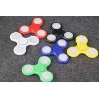Wholesale High Speed led Tri Spinner Fidget Toy Stress Reducer ,led Hand Fidget Spinner Perfect for ADD, ADHD, Anxiety from china suppliers