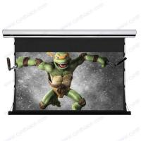 Wholesale Cynthia Tubular Motor PVC Fabric Motorized Tab Tensioned Projector Screen from china suppliers