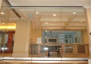 Wholesale Sliding Glass Partition Single Types Of Glass Partition Wall Office Partition from china suppliers