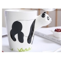 Wholesale Hand Printed 15 Ounce 3D Ceramic Reusable Coffee Cup from china suppliers