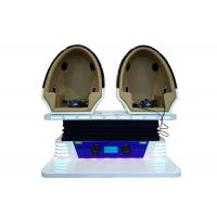 China Electric Type 9D Egg VR Cinema , 9D Adventure Extreme Cinemas For Amusement Park on sale