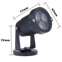 Wholesale 3W Large size aluminium 300lumens AC85-265V led lawn light for villa decorative from china suppliers
