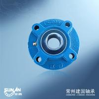 Ball Bearing Unit / Cast Iron Pillow Block Bearing With Locking Collar UELFC206 / HCFC206