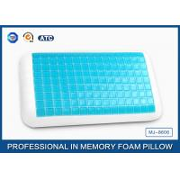 Wholesale Adjustable Wave Shape Memory Foam Cooling Gel Pillow , Silicome Gel Pillow from china suppliers