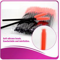 Wholesale Multi -Top Silicone Mascara Applicator Brushes , Fashionable Eyelash Extension Brush from china suppliers