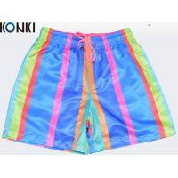 Buy cheap OEM Sublimation Multi Colors Custom Pants Swim Shorts / Beach Shorts For Skate from wholesalers