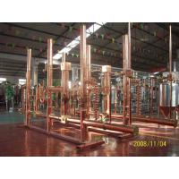Wholesale Pub Hotel Micro Beer Brewing Equipment 500l Red Copper Brew Kettle Steam Heating from china suppliers