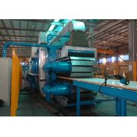 Wholesale PLC Control Rock Wool Production Line / PU Formed Sectional Sandwich Panel Line from china suppliers