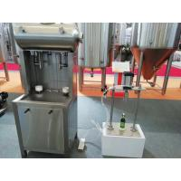 Wholesale 50Hz SUS304 Automatic Glass Bottle Filling Machine For Beer / Beverage from china suppliers