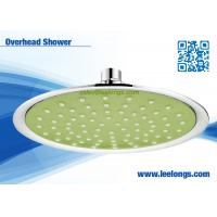 Eco Friendly Powerful 8 Inch Round Rain And Waterfall Shower Head Overhead Manufactures