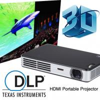 Wholesale Best Seller HD 2D To 3D Convert DLP Mini Video Projector With HDMI Support 1080p from china suppliers
