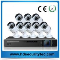 8CH realtime 1080p TVI DVR Kits with 8*2Mp TVI cameras by browser and mobile app remote