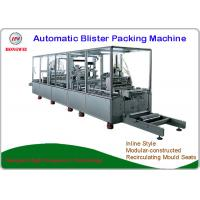 China Brush Automatic Blister Packing Machine High Safety Design With Labelling Equipment on sale