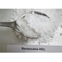 Wholesale Local Anesthetic Steroids Raw Powder , Pure Benzocaine HCL Powder CAS 23239-88-5 from china suppliers