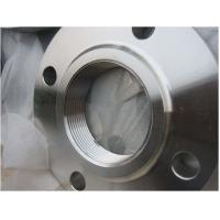 Wholesale 150LBS Threaded Stainless Steel Flanges For Gas / Water Pipeline System from china suppliers