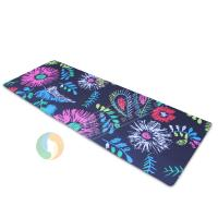 China Eco-friendly non-toxic outdoor yoga mat with excellent slip resistance, yoga mat wholesales on sale