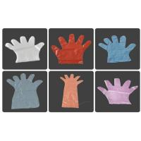 Wholesale Embossed Smooth Surface Disposable PE Gloves For Restaurant / Hotel / Household from china suppliers