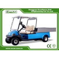 Wholesale 2 Seater Hotel Buggy Car , Electric Utility Golf Carts 100% Waterproof Accelerator from china suppliers
