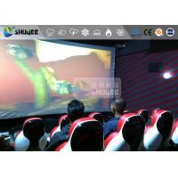 China Red Luxury Seat 7d Cinema Equipment 7D Simulator System Metal Flat Screen on sale