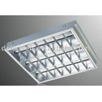 Wholesale Embedded 18W 36W Inductive Aluminum Ceiling Fluorescent Light Grid Grille Lamp from china suppliers