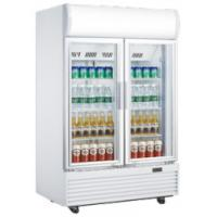 Wholesale 630L veritcal double door defrost direct cooling display beverage cooler/softdrink cooler/beverage showcase from china suppliers