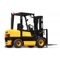 China Yellow 2 Ton Diesel Powered Forklift Ruck With Japanese Engine / Steady Belt on sale