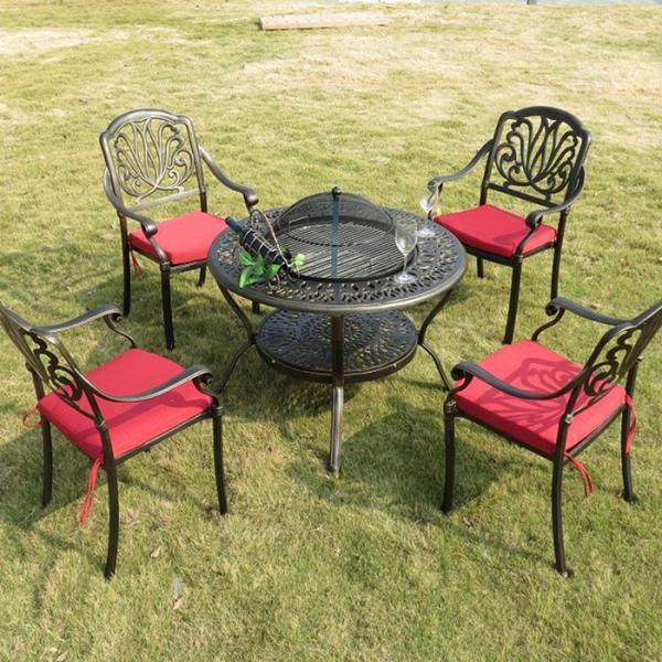 China manufacturer cast aluminum outdoor furniture new for Cast aluminum patio furniture manufacturers