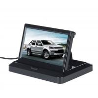 5'' Foldable Car Rear View Monitor Compact Structure Easy Installation