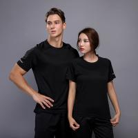 Wholesale Soft Running Wear Fitness Sports Elastic Clothing Athletic Bodybuilding T Shirts from china suppliers
