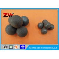 China High chrome casting and forging grinding media ball for cement plants on sale