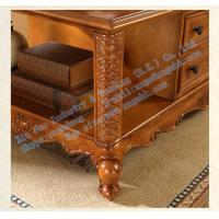 Wooden living room furniture wooden carved rectangular for Furniture 66 long lane liverpool