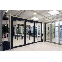 China Contemporary Design Aluminum Sliding Glass Doors Sound Insulation Customized Size on sale