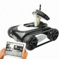 Wholesale Wi-Fi Camera for iPhone/iPad, with Tank Camera Control from china suppliers
