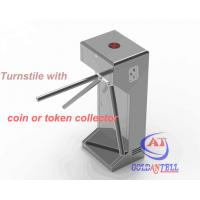 Wholesale Half Height Coin or Token Operated turnstile entrance gates for Swimming Pool Entrance from china suppliers