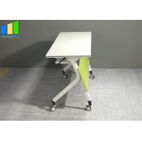 Wholesale Office Furniture Partitions Folding Desk Foldable Training Table Computer Foldable Training Table from china suppliers