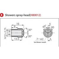 Buy cheap Premium Nozzle Ionizer Accessories High Performance Showers Spray Head from wholesalers