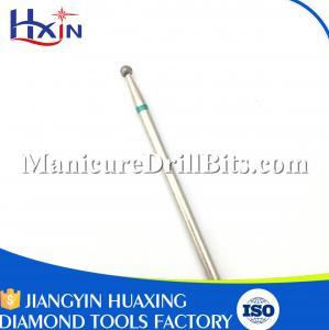 Nail Beauty Diamond Cuticle Bit , 2.3mm Ball Type Nail Cleaning Drill Bits