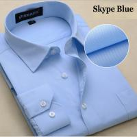 Shirts, Men Shirts, High quality ! 45% cotton+ 55% Polyester, All sizes provided !