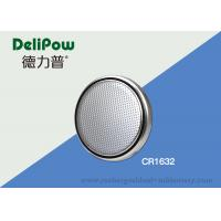 Buy cheap Environmental CR1632 Coin Cell Lithium Battery Heat Resistant from wholesalers