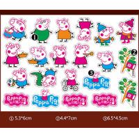Wholesale Multiple Color Chocolate Transfer Molds / Peppa Pig Chocolate Mold For Children DIY from china suppliers