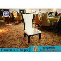 Wholesale Texas Poker Games Baccarat Upholstered Leather Chair With Custom Logo from china suppliers
