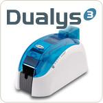 China Plastic Evolis Dualys ID Card Printer on sale